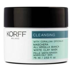 KORFF CLEANSING MASCHERA PURIFICANTE ARGILLA BIANCA 75ml
