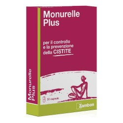 MONURELLE PLUS INTEGRATORE CONTROLLO CISTITE 30CPS