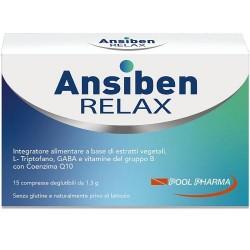 ANSIBEN RELAX INTEGRATORE ANSIA E STRESS 15CPR