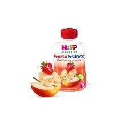 HIPP BIO FRUTTA FRULLATA MELA/BANANA/FRAGOLA 90g