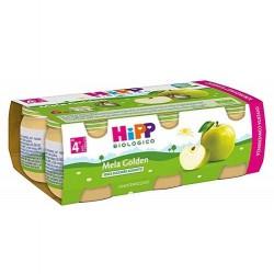 HIPP BIO OMOGENEIZZATO MELA GOLDEN 100% 6X80 g