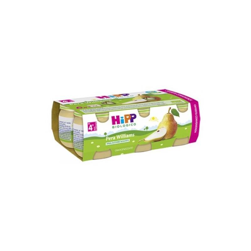 HIPP BIO OMOGENEIZZATO PERA WILLIAMS 100% 6X80 g