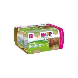 HIPP BIO OMOGENEIZZATO MANZO 4X80 g