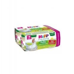 HIPP BIO OMOGENEIZZATO POLLO 4X80 g