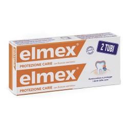 ELMEX DENTIFRICIO PROTEZIONE CARIE 2X75ml