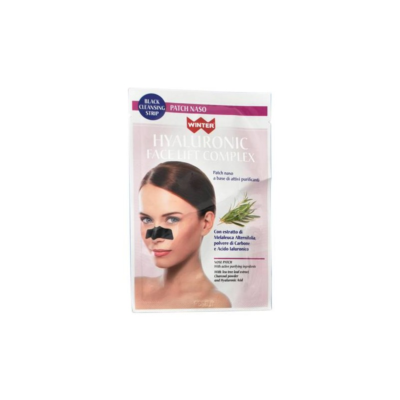 WINTER HYAL FACE PATCH NASO PURIFICANTI IN TESSUTO