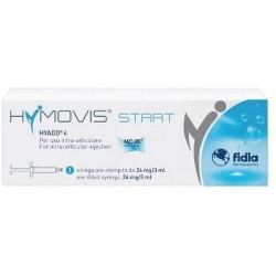 HYMOVIS START ACIDO IALURONICO PER INFILTRAZIONI INTRARTICOLARI 24mg/3ml 1 SIRINGA PRERIEMPITA