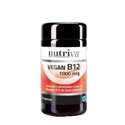 NUTRIVA VEGAN B12 INTEGRATORE 60CPR 1000MC