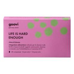 GOOVI LIFE IS HARD ENOUGH RITMO DI DONNA INTEGRATORE 28 COMPRESSE