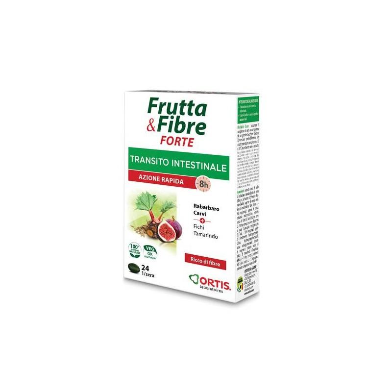 FRUTTA & FIBRE FORTE INTEGRATORE 24CPR