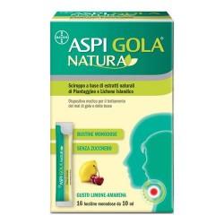 ASPI GOLA NATURA TOSSE E MAL DI GOLA 16 BUSTINE