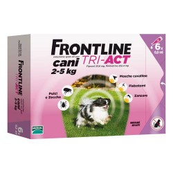 FRONTLINE TRI-ACT*6PIP 2-5KG