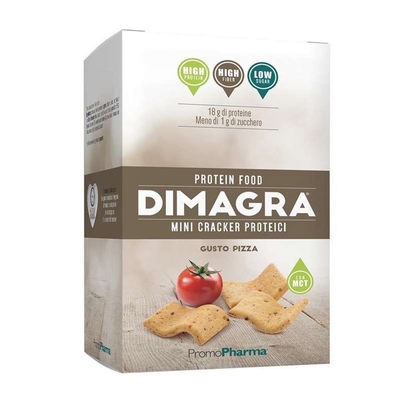 PromoPharma DImagra Mini Cracker Proteici Gusto Pizza