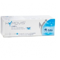 HYMOVIS ACIDO IALURONICO INFILTRAZIONI INTRARTICOLARI 2 SIRINGHE PRERIEMPITE 24mg/3ml