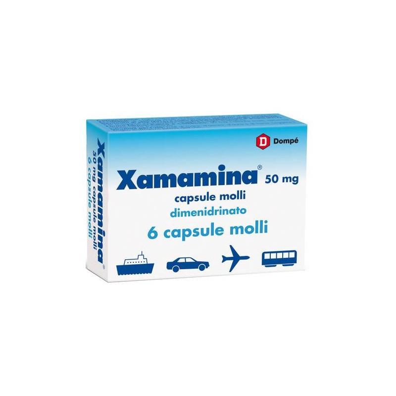 XAMAMINA VIAGGIO ANTINAUSEA 6 CAPSULE