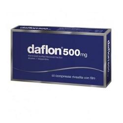 DAFLON 60 CPR RIVESTITE CAPILLARI FRAGILI 500mg