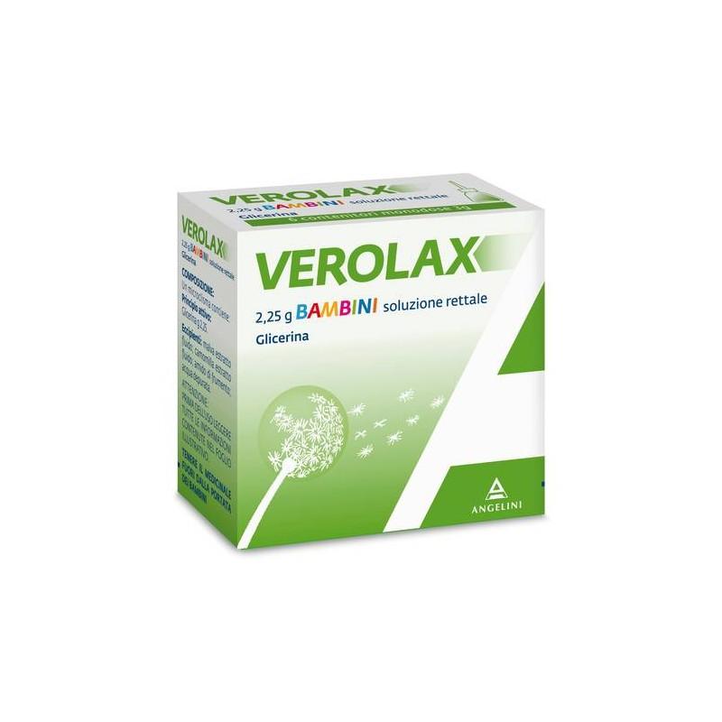 VEROLAX BAMBINI SOLUZIONE RETTALE 6 CLISMI 2,25g