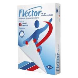 FLECTOR 180mg DICLOFENAC 15 CEROTTI MEDICATI