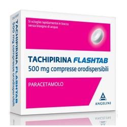 TACHIPIRINA FLASHTAB SENZA ACQUA 16 COMPRESSE 500mg