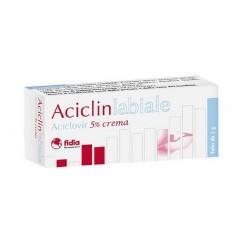 ACICLINLABIALE CREMA PER HERPES LABIALE 2g 5%