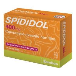SPIDIDOL 400MG IBUPROFENE 24 CPR RIV