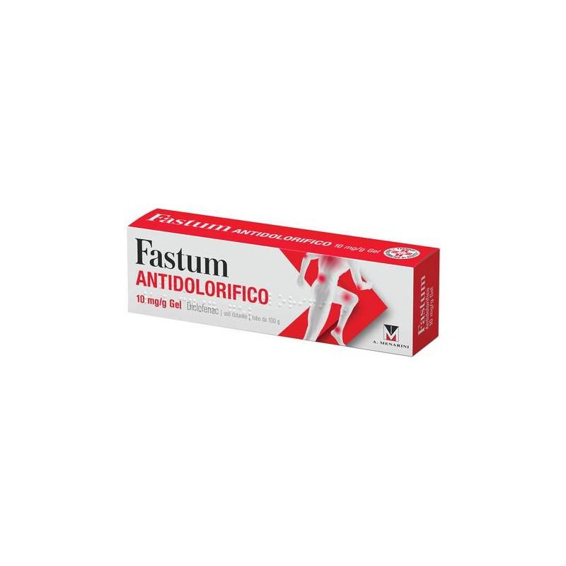 FASTUM GEL ANTIDOLORIFICO 1% 100g