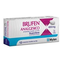 BRUFEN ANALGESICO 12CPR RIV 400MG