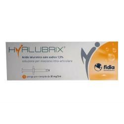 HYALUBRIX 30 ACIDO IALURONICO PER INFILTRAZIONI INTRARTICOLARI 30mg/2ml 1 SIRINGA PRERIEMPITA