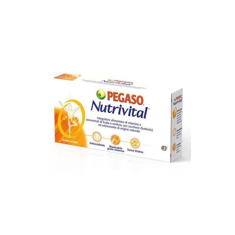 NUTRIVITAL INTEGRATORE VITAMINICO 30 COMPRESSE MASTICABILI
