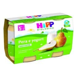 HIPP OMOGENIZZATO BIO PERA E YOGURT 2X125g