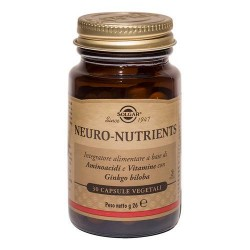 SOLGAR NEURO-NUTRIENTS INTEGRATORE 30 CAPSULE VEGETALI