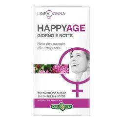 HAPPY AGE GIORNO E NOTTE INTEGRATORE MENOPAUSA 60CPR