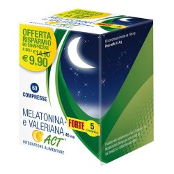 MELATONINA ACT 1MG+VAL+5C60CPR