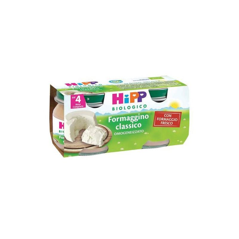 HIPP BIO OMOGENEIZZATO FORMAGGINO CLASSICO 2X80g