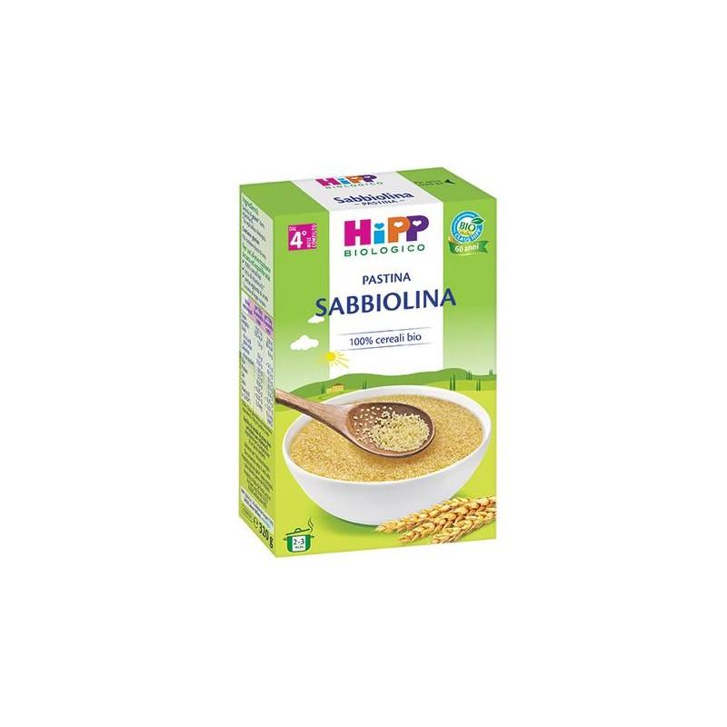 HIPP BIO PASTINA SABBIOLINA 320G