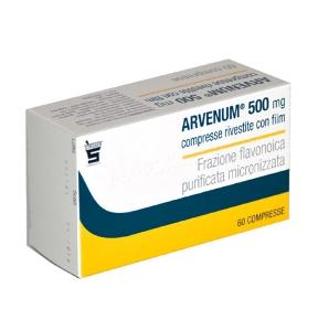 ARVENUM FARMACO VASOPROTETTORE 60 COMPRESSE RIVESTITE 500MG