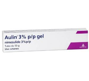 AULIN GEL 3% NIMESULIDE DISTORSIONI E TENDINITI 50g