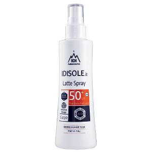 IDISOLE.IT TATUAGGI LATTE SOLARE SPRAY SPF50+ 200ML