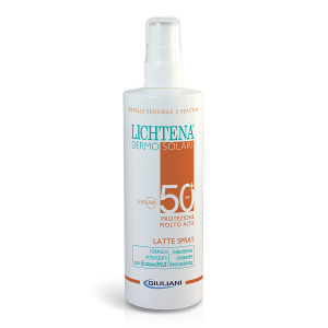 LICHTENA DERMO SOLARI LATTE SPRAY SPF50+ 200ml