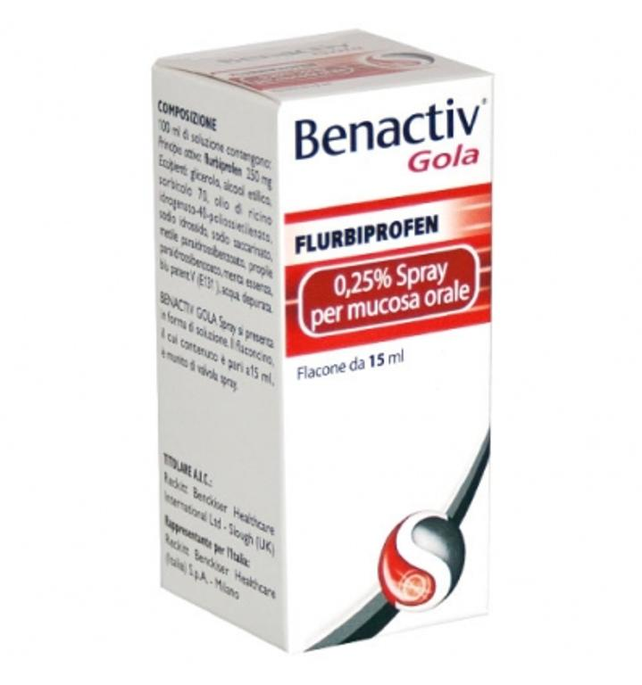 BENACTIV Gola Spray 15 ml