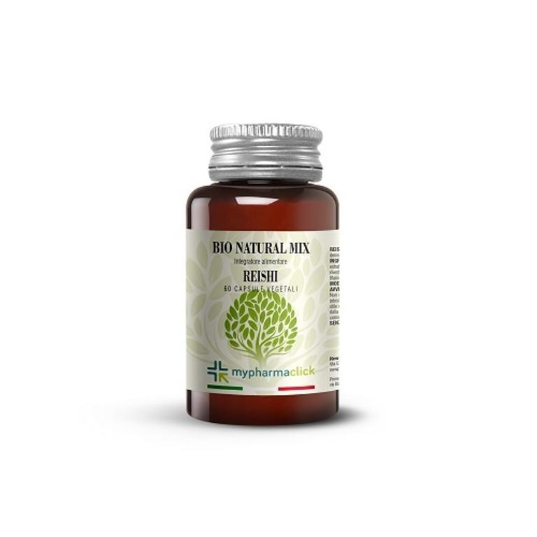 BIO NATURAL MIX REISHI INTEGRATORE 60CPS