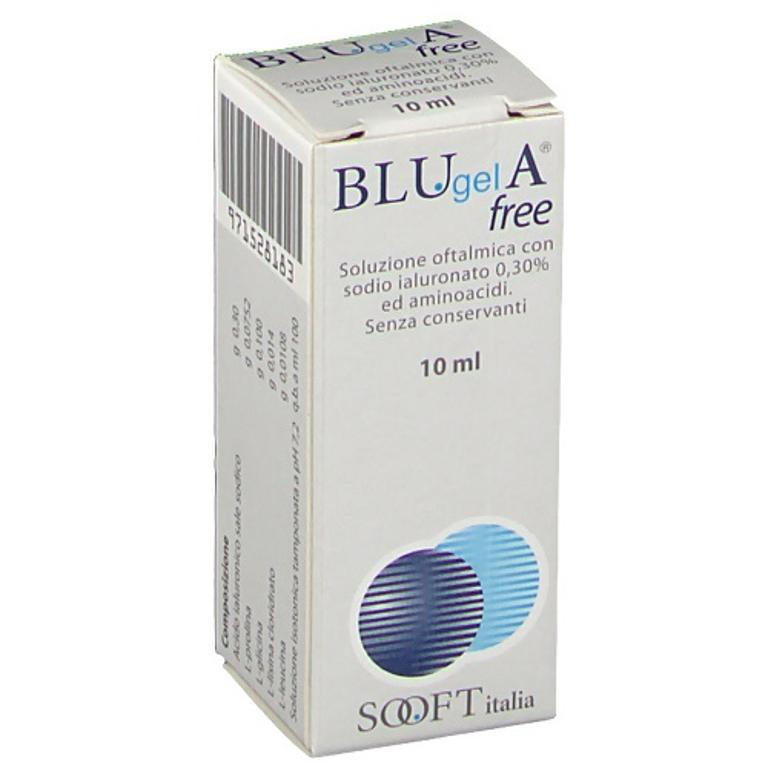 BLUGEL A FREE COLLIRIO LUBRIFICANTE 10ml
