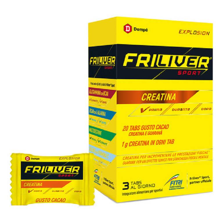 FRILIVER ENERGY INTEGRATORE ALIMENTARE CON CREATINA E GUARANA 20TAV