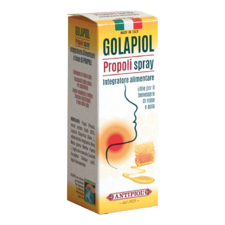 GOLAPIOL PROPOLI SPRAY LENITIVO GOLA 15ML