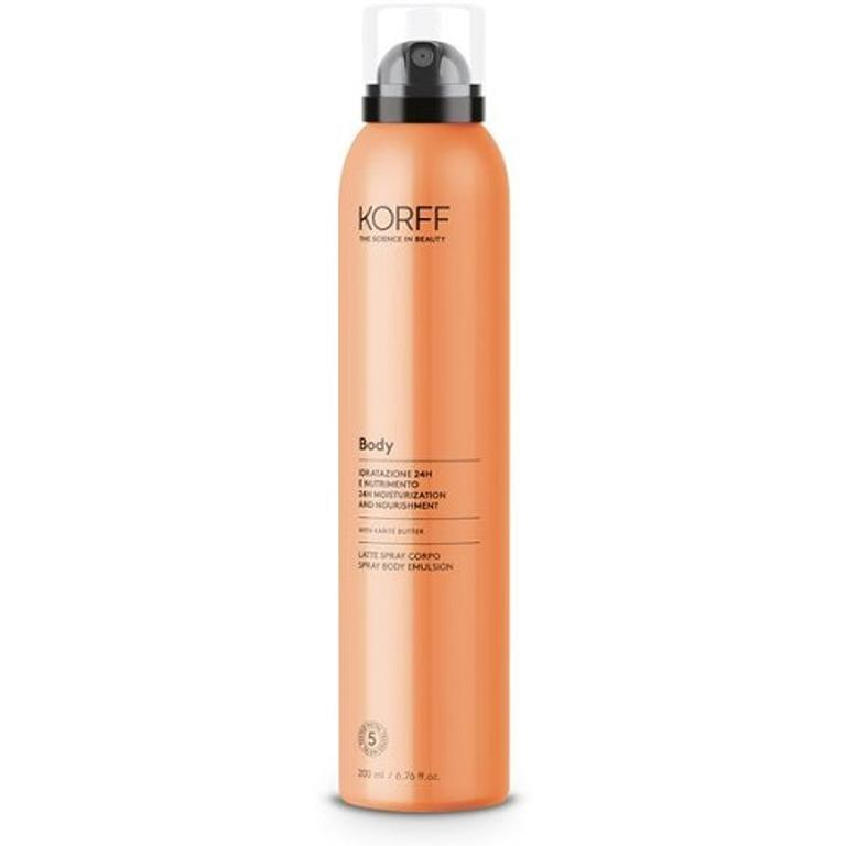 KORFF BODY LATTE SPRAY IDRATANTE CORPO 200ML