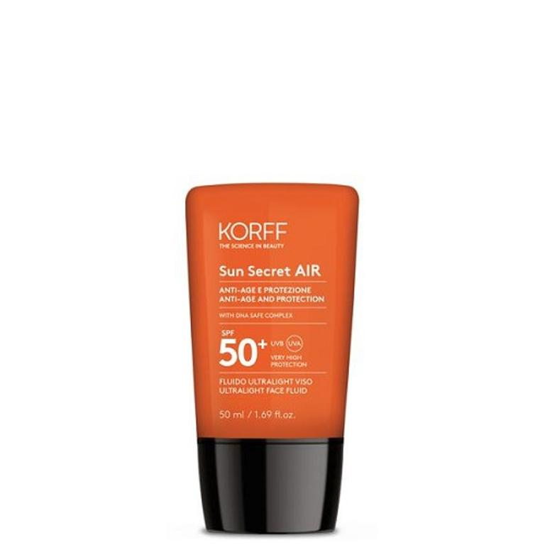 KORFF SUN SECRET AIR FLUIDO SOLARE VISO ULTRALIGHT SPF50+ 50ml
