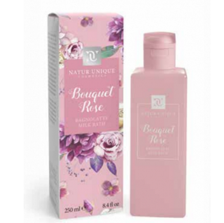 NATUR UNIQUE BAGNOLATTE BOUQUET ROSE 250 ml