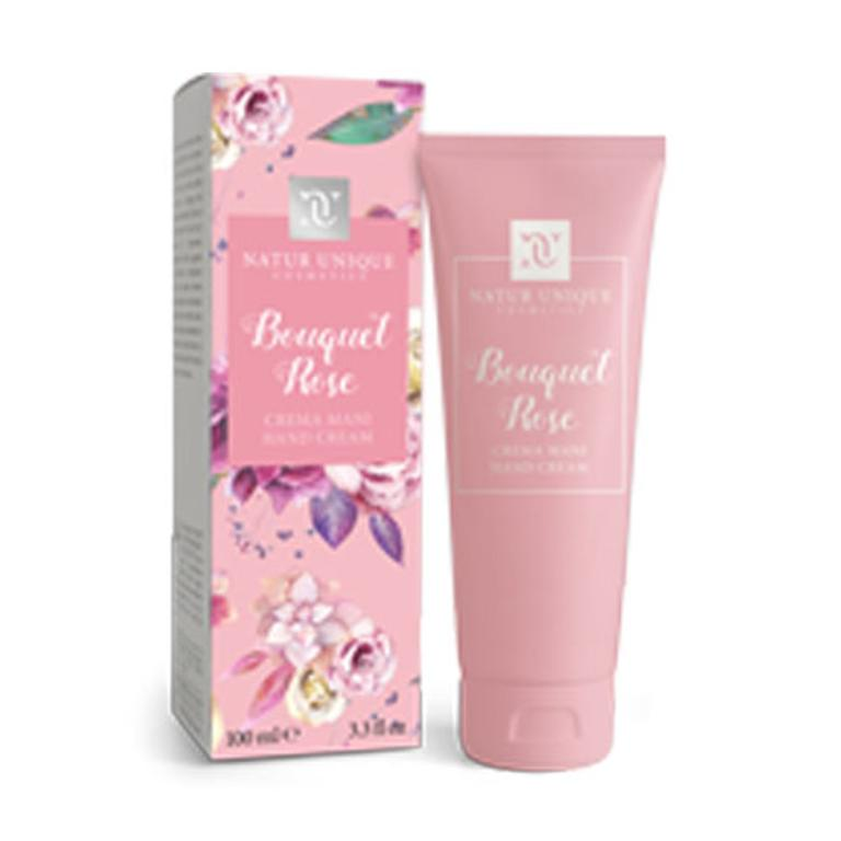 NATUR UNIQUE CREMA MANI BOUQUET ROSE 100 ml