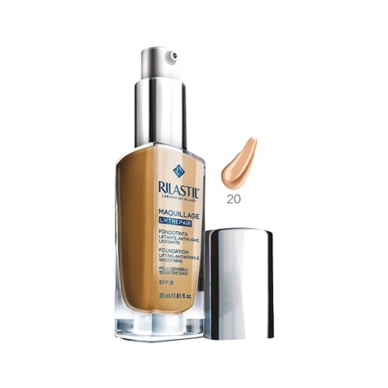 RILASTIL MAQUILLAGE LIFTREPAIR FONDOTINTA LIFTANTE ANTIRUGHE LEVIGANTE N.20 30ml