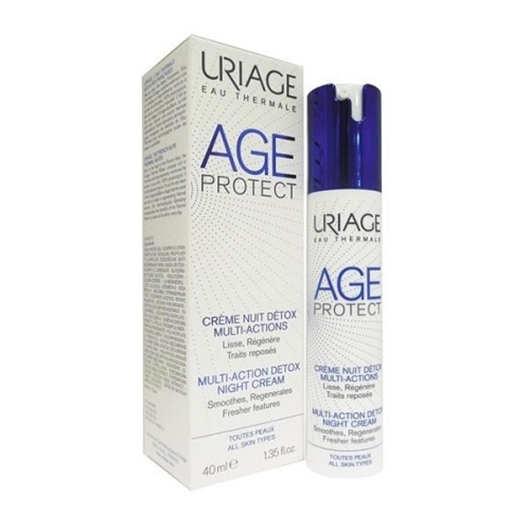 URIAGE AGE PROTECT CREMA NOTTE DETOX 40 ml
